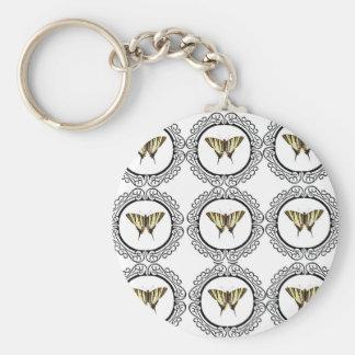 Chaveiro grupo de borboletas