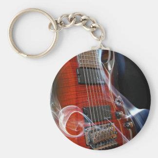 Chaveiro Guitarra da Sete-Corda das cordas da guitarra oito