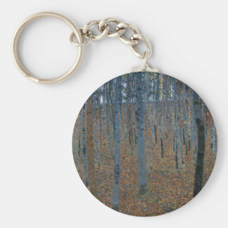 Chaveiro Gustavo Klimt - bosque da faia. Animais selvagens