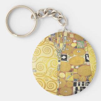 Chaveiro Gustavo Klimt - o abraço - trabalhos de arte