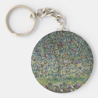 Chaveiro Gustavo Klimt - pintura da árvore de Apple