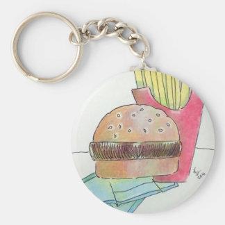 Chaveiro Hamburger com fritadas