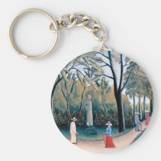 Chaveiro Henri Rousseau - os jardins de Luxembourg