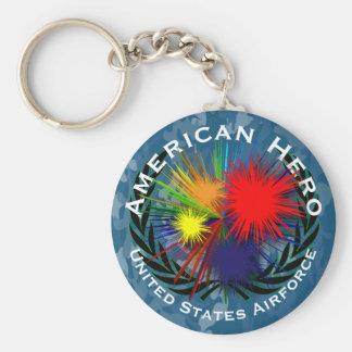 Chaveiro Herói americano