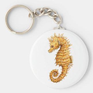 Chaveiro Hipocampo do hipocampo do cavalo de mar