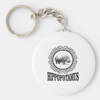 Chaveiro Hipopótamo quadro