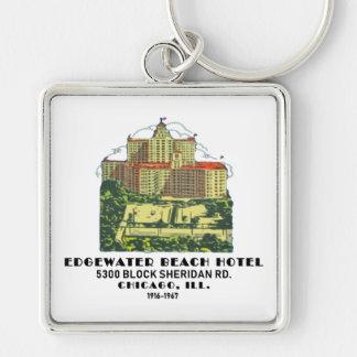 Chaveiro Hotel da praia de Edgewater, Chicago, Illinois
