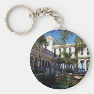 Chaveiro Hotel de Tenerife e anel chave do botão das