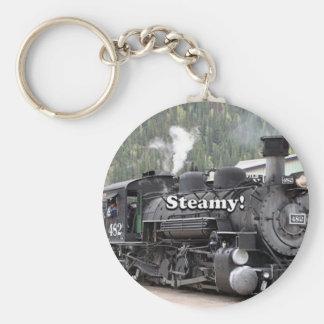 Chaveiro Húmido!: motor do trem do vapor, Colorado, EUA