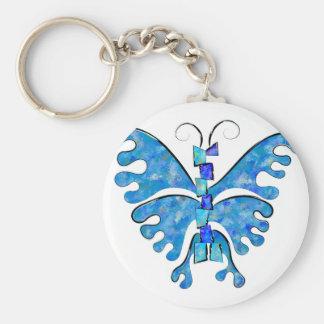 Chaveiro Icelonius - borboleta azul do gelo