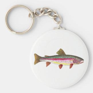 Chaveiro Ictiologias da pesca da truta de arco-íris