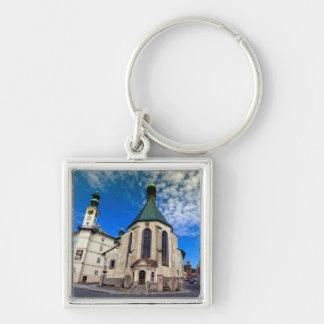 Chaveiro Igreja de St. Catherine, Banska Stiavnica,