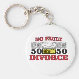 Chaveiro igualdade 50 do divórcio 50 da no-falha