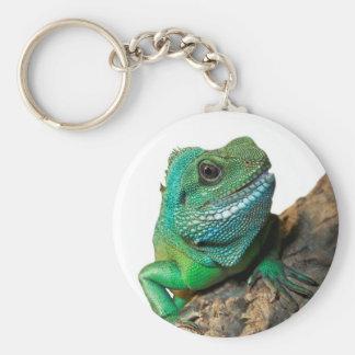 Chaveiro Iguana verde