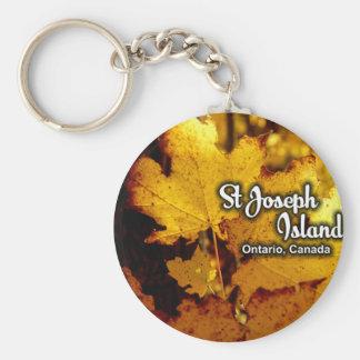 Chaveiro Ilha de St Joseph, Ontário Canadá