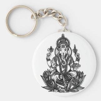 Chaveiro Ilustração de Ganesh