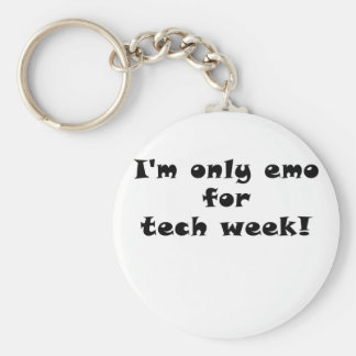 Chaveiro Im somente Emo para a semana da tecnologia