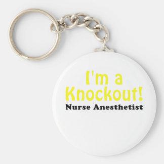 Chaveiro Im um Anesthetist da enfermeira do KO