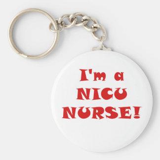 Chaveiro Im uma enfermeira de Nicu