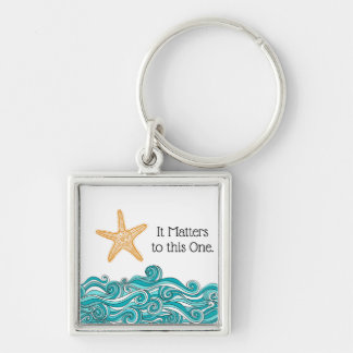 Chaveiro Importa a esta uma estrela do mar