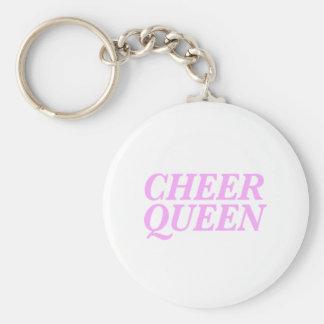 Chaveiro Impressão da rainha do elogio