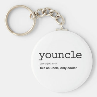 Chaveiro Impressão engraçado da definição de Youncle