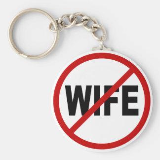Chaveiro Indicação permitida esposa do sinal do ódio