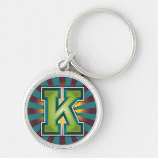 """Chaveiro Inicial de """"K"""""""