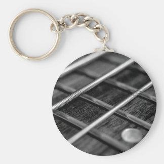 Chaveiro Instrumento do som da rocha da música da guitarra