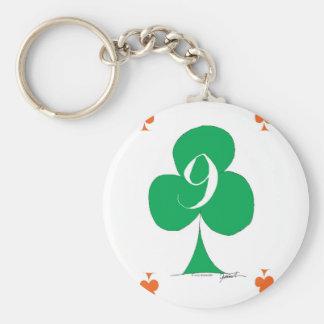 Chaveiro Irlandês afortunado 9 dos clubes, fernandes tony