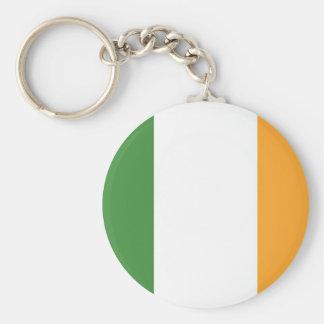 Chaveiro irlandês do design da bandeira