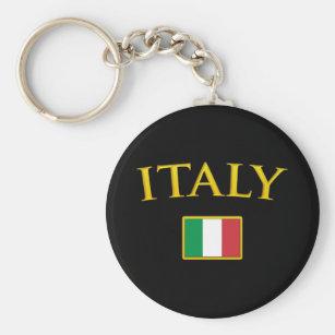 Chaveiro Italia dourada