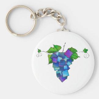 Chaveiro Jamurissa - uvas quadradas