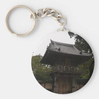 Chaveiro japonês da entrada do jardim de chá de SF