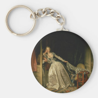 Chaveiro Jean-Honore Fragonard - o beijo roubado - belas