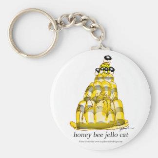 Chaveiro jello da abelha do mel dos fernandes tony