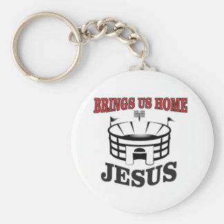 Chaveiro Jesus traz-nos home