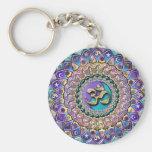 Chaveiro Jeweled da mandala de Astrosymbology