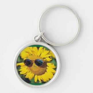 Chaveiro Keychain: Sunflowers for good reason