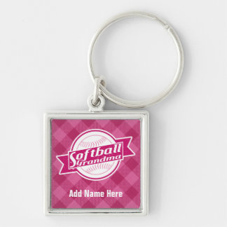 Chaveiro Keyring customizável da avó do softball