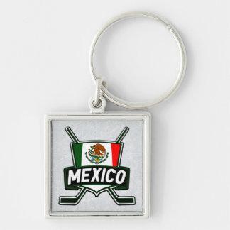 Chaveiro Keyring da bandeira do hóquei em gelo de México