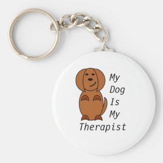 Chaveiro Keyring da terapia do cão