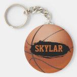 Chaveiro/Keyring do basquetebol do Grunge de Skyla
