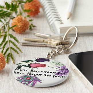 Chaveiro Keyring florido para mães