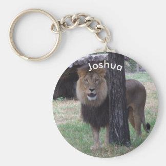Chaveiro Keyring personalizado do leão