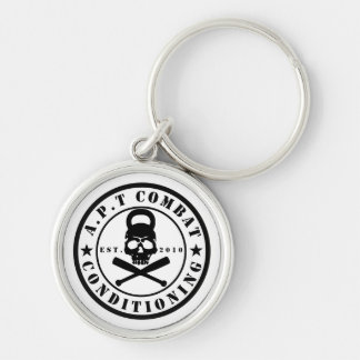 Chaveiro Keyring redondo superior do logotipo 1