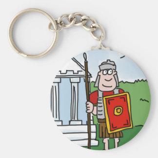 Chaveiro Keyring romano dos desenhos animados da história