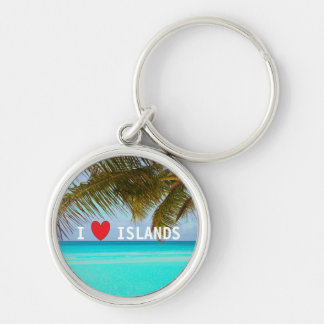 Chaveiro Keyring tropical do Aqua das ilhas do amor