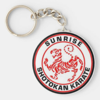 Chaveiro Keyrings do karaté de Shotokan do nascer do sol