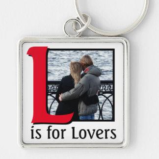 Chaveiro L para amantes